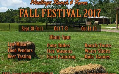 Hastings Ranch & Farm Announces 2017 Fall Festival