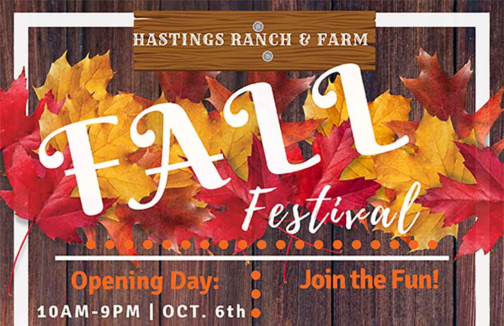 Hastings Ranch and Farm Fall Festival Back Every Weekend in October