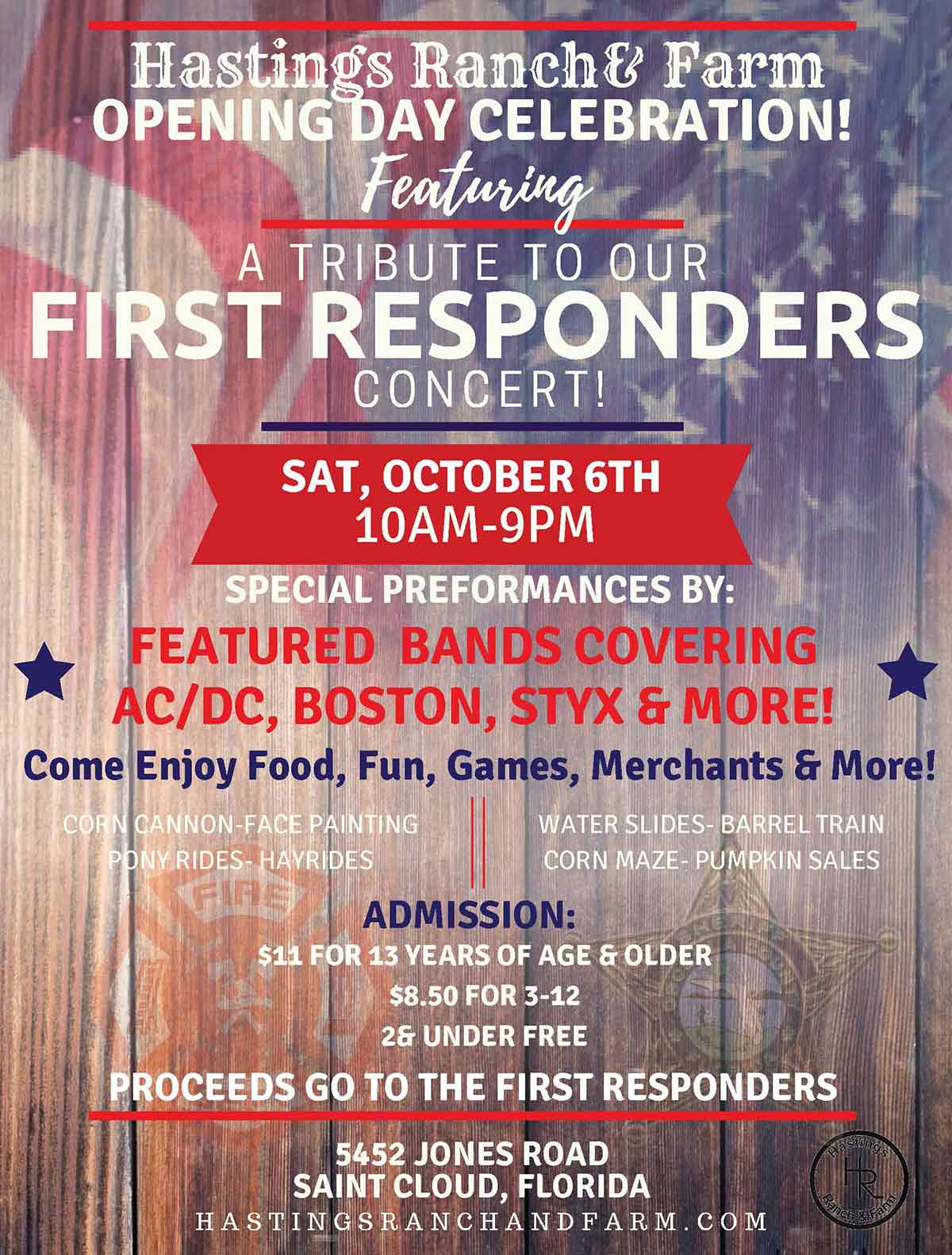 Hastings Fall Festival First Responders