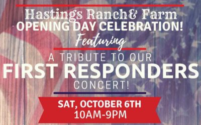 Hastings Ranch & Farm Fall Festival Kicks Off Honoring First Responders