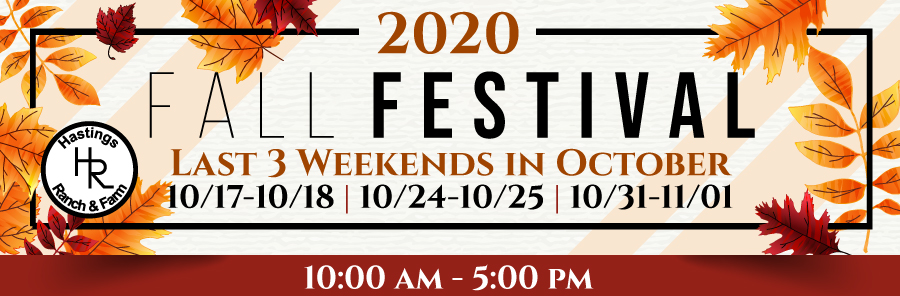 Hastings Ranch & Farm Fall Festival Filling Vendor Spaces Now